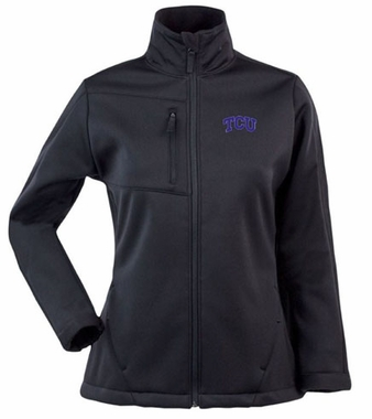 TCU Womens Traverse Jacket (Team Color: Black)