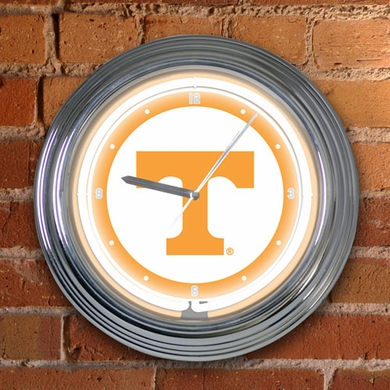 Tennessee 15 Inch Neon Clock