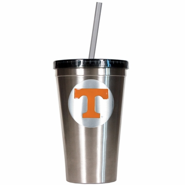 Tennessee 16oz Stainless Steel Insulated Tumbler with Straw