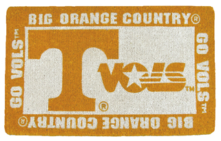 Tennessee 18x30 Bleached Welcome Mat