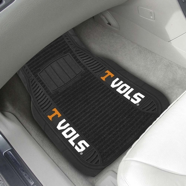Tennessee 2 Piece Heavy Duty DELUXE Vinyl Car Mats