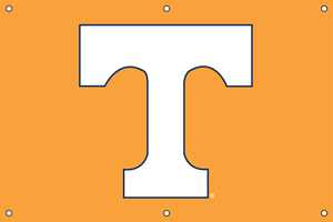Tennessee 2 x 3 Horizontal Applique Fan Banner