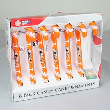 Tennessee 2010 Set of 6 Candy Cane Ornaments