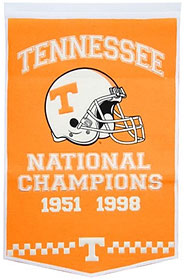 "Tennessee 24""x36"" Dynasty Wool Banner"