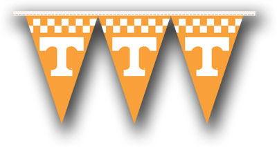 Tennessee 25 Foot String of Party Pennants (P)