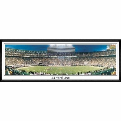 Tennessee 34 Yard Line Framed Panoramic Print