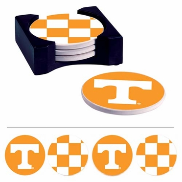 Tennessee Absorbent Coaster Set w/Caddy
