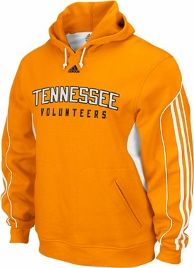 Tennessee Adidas 3 Stripe Hooded Sweatshirt