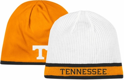 Tennessee Adidas Cuffless Reversible Player Knit Hat