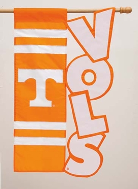 Tennessee Applique Sculpted Flag