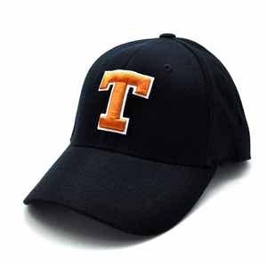 Tennessee Black Premium FlexFit Baseball Hat - Small / Medium