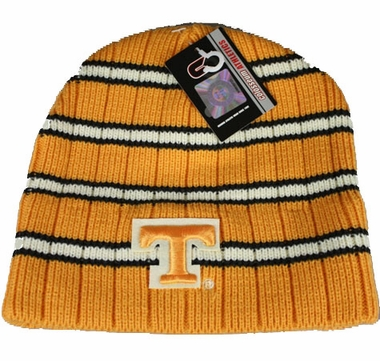 Tennessee Cobra Striped Cuffless Knit Hat Beanie