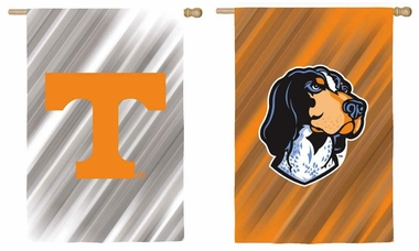 Tennessee Double Sided Sub Suede Flag