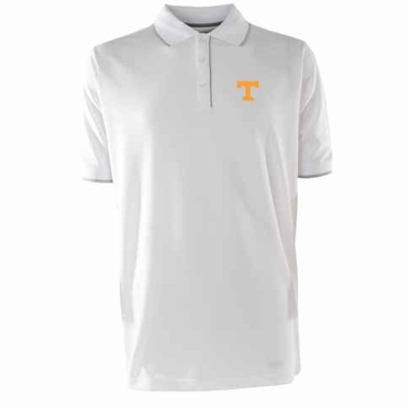 Tennessee Mens Elite Polo Shirt (Color: White)
