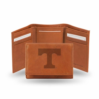 Tennessee Embossed Leather Trifold Wallet