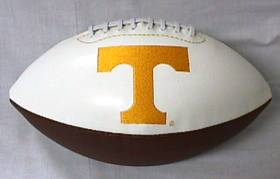 Tennessee Embroidered Foto Football