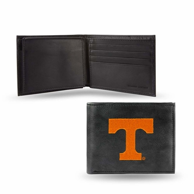 Tennessee Embroidered Leather Bi-Fold Wallet
