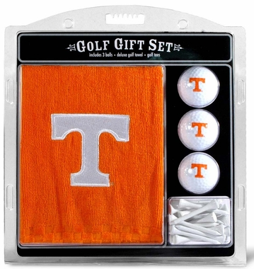 Tennessee Embroidered Towel Golf Gift Set