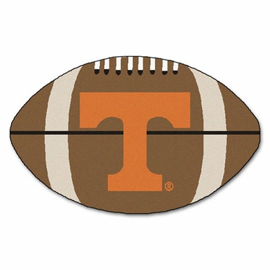 Tennessee Football Shaped Rug