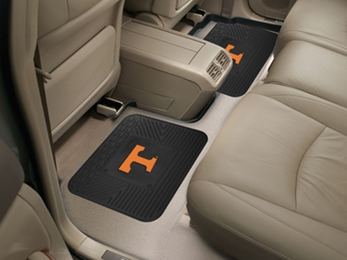 Tennessee SET OF 2 Heavy Duty Vinyl Rear Car Mats
