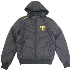 Tennessee Insulator Hooded Full Zip Heavy Jacket - Large