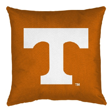 Tennessee Jersey Material Toss Pillow