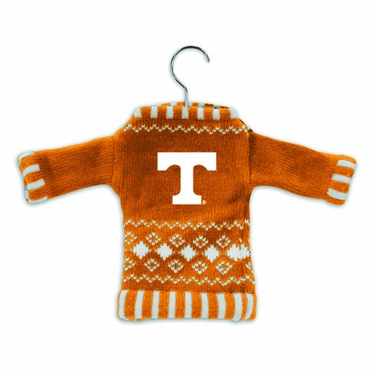 Tennessee Knit Sweater Ornament (Set of 3)