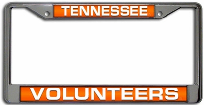 Tennessee Laser Etched Chrome License Plate Frame