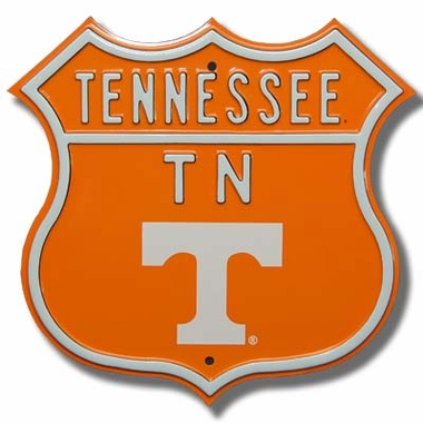 Tennessee Logo Route Sign