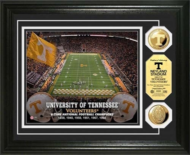 Tennessee Volunteers University of Tennessee Stadium Gold Coin Photo Mint