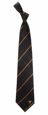 Tennessee Oxford Stripe Woven Silk Necktie
