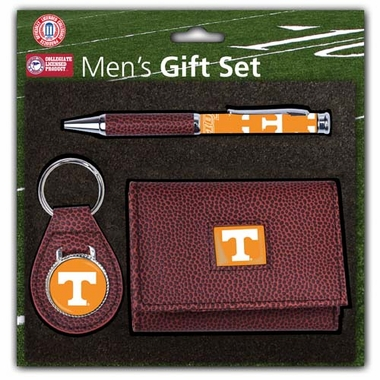 Tennessee Pebble Wallet Gift Set