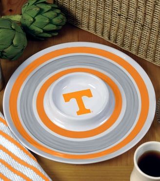 Tennessee Plastic Chip and Dip Plate