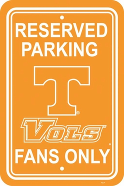 Tennessee Plastic Parking Sign (P)