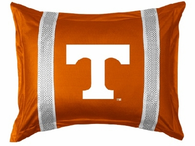 Tennessee SIDELINES Jersey Material Pillow Sham