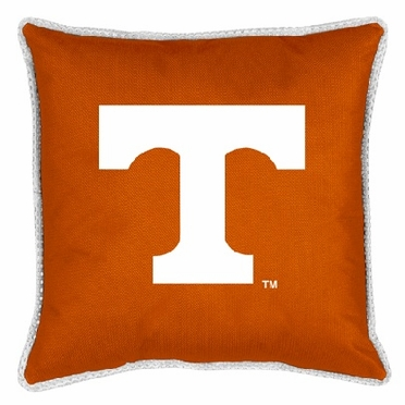 Tennessee SIDELINES Jersey Material Toss Pillow