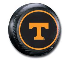 Tennessee Volunteers Black Tire Cover - Standard Size