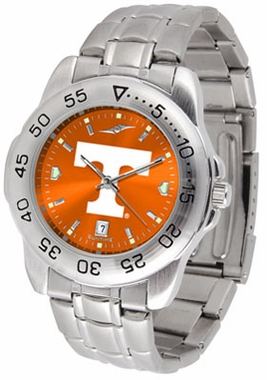 Tennessee Sport Anonized Men's Steel Band Watch