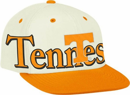 Tennessee Team Name and Logo Snapback Hat