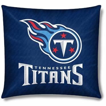 Tennessee Titans 18 Inch Toss Pillow