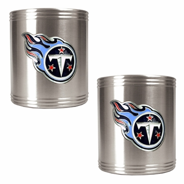 Tennessee Titans 2 Can Holder Set