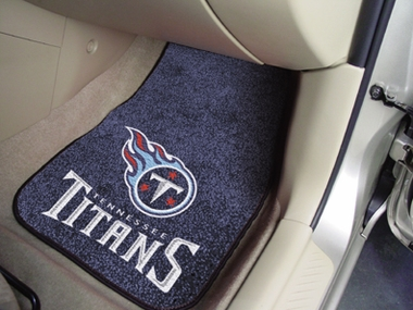 Tennessee Titans 2 Piece Car Mats