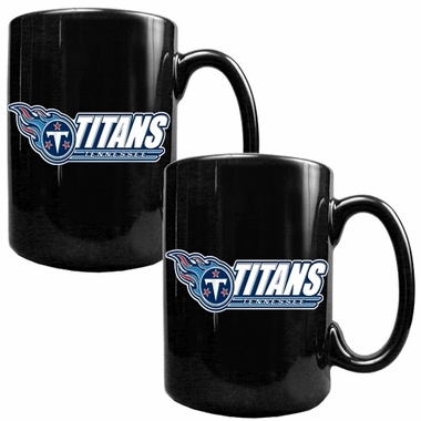 Tennessee Titans 2 Piece Coffee Mug Set (Wordmark)