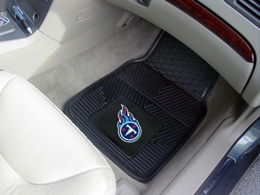 Tennessee Titans 2 Piece Heavy Duty Vinyl Car Mats