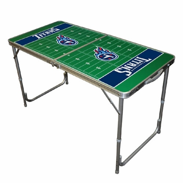 Tennessee Titans 2 x 4 Foot Tailgate Table