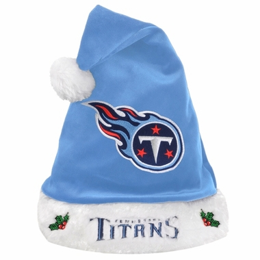 Tennessee Titans 2012 Team Logo Plush Santa Hat