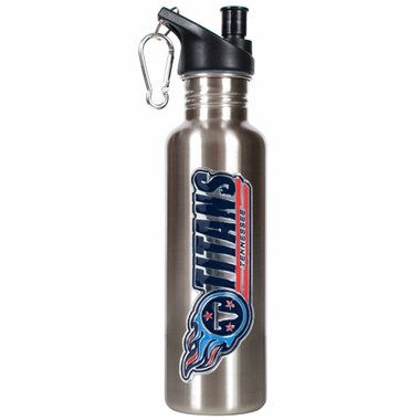Tennessee Titans 26oz Stainless Steel Water Bottle (Silver)