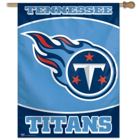 "Tennessee Titans 27"" x 37"" Banner"