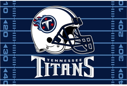 Tennessee Titans 40 x 60 Rug