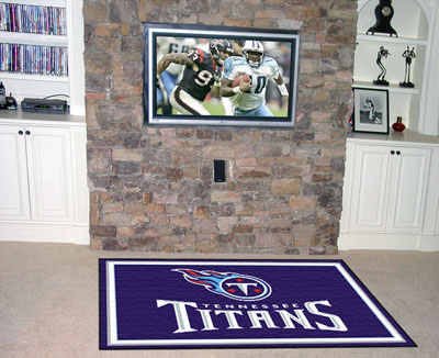 Tennessee Titans 5 Foot x 8 Foot Rug